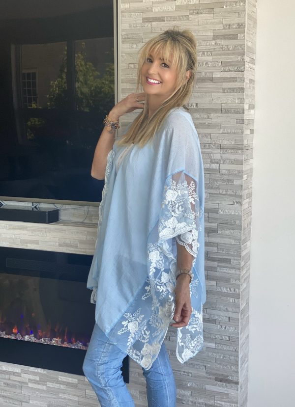 Summer fashion lace cover up